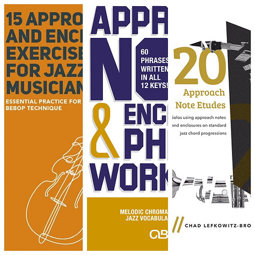 (Bass Clef) Approach Note and Enclosure Combo Package