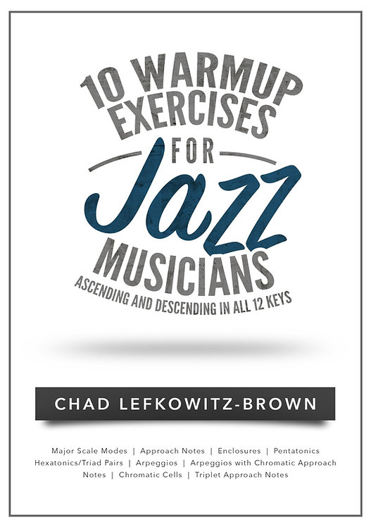 (Bass) 10 Warmup Exercises for Jazz Musicians (Digital Download)