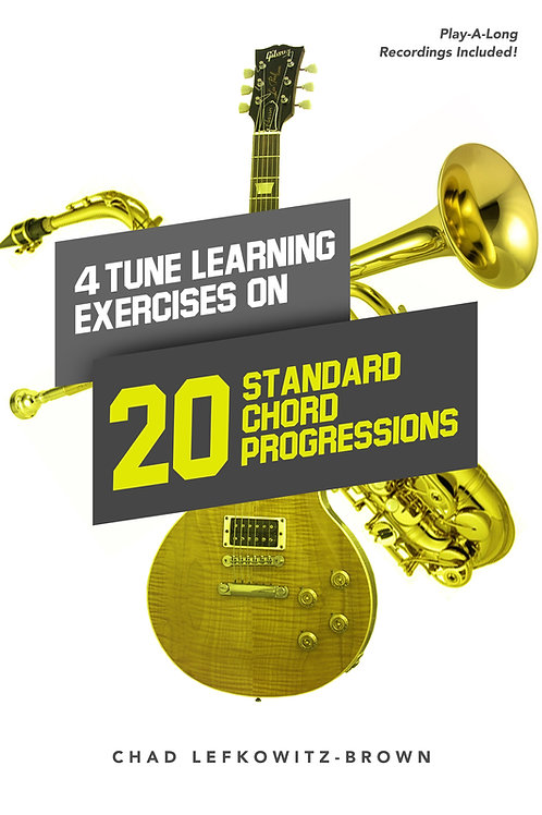 (Trumpet) 4 Tune Learning Exercises on 20 Standards (Digital Download + Tracks)