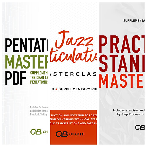 (C) Masterclass Combo Package Videos + PDF - All 3 Masterclass Packages!