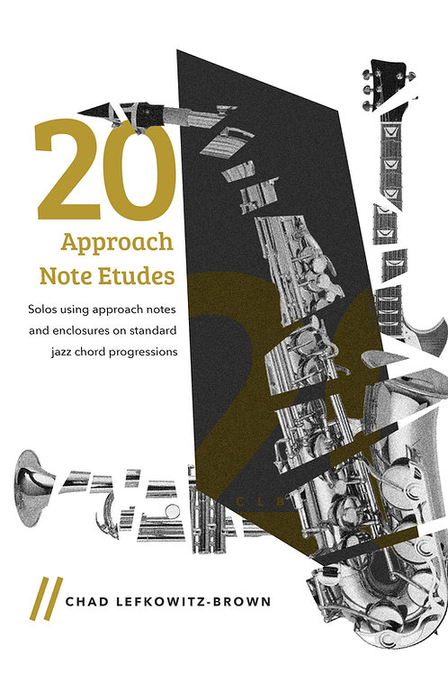 (Bb Tenor Sax) 20 Approach Note Etudes (Digital Download)