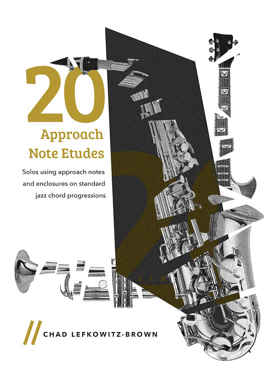 (Bass Clef) 20 Approach Note Etudes (Digital Download)