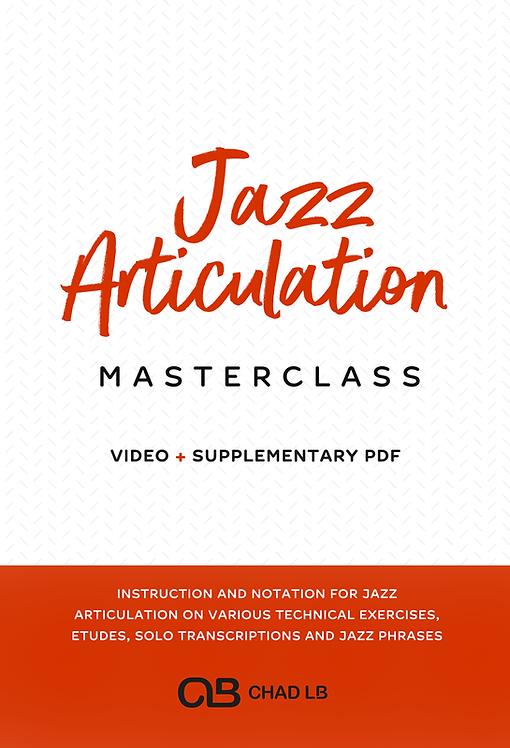 (Concert) Articulation Masterclass