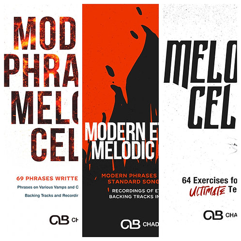 (Bb Trumpet) Modern Combo Package - All 3 Melodic Cells PDFs!