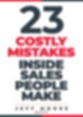 23 Costly Mistakes Inside Salespeople Ma