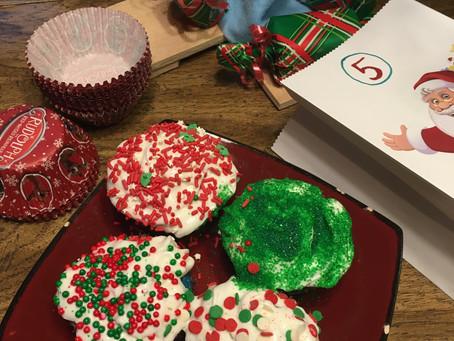 Day 5: Bake Christmas Cupcakes