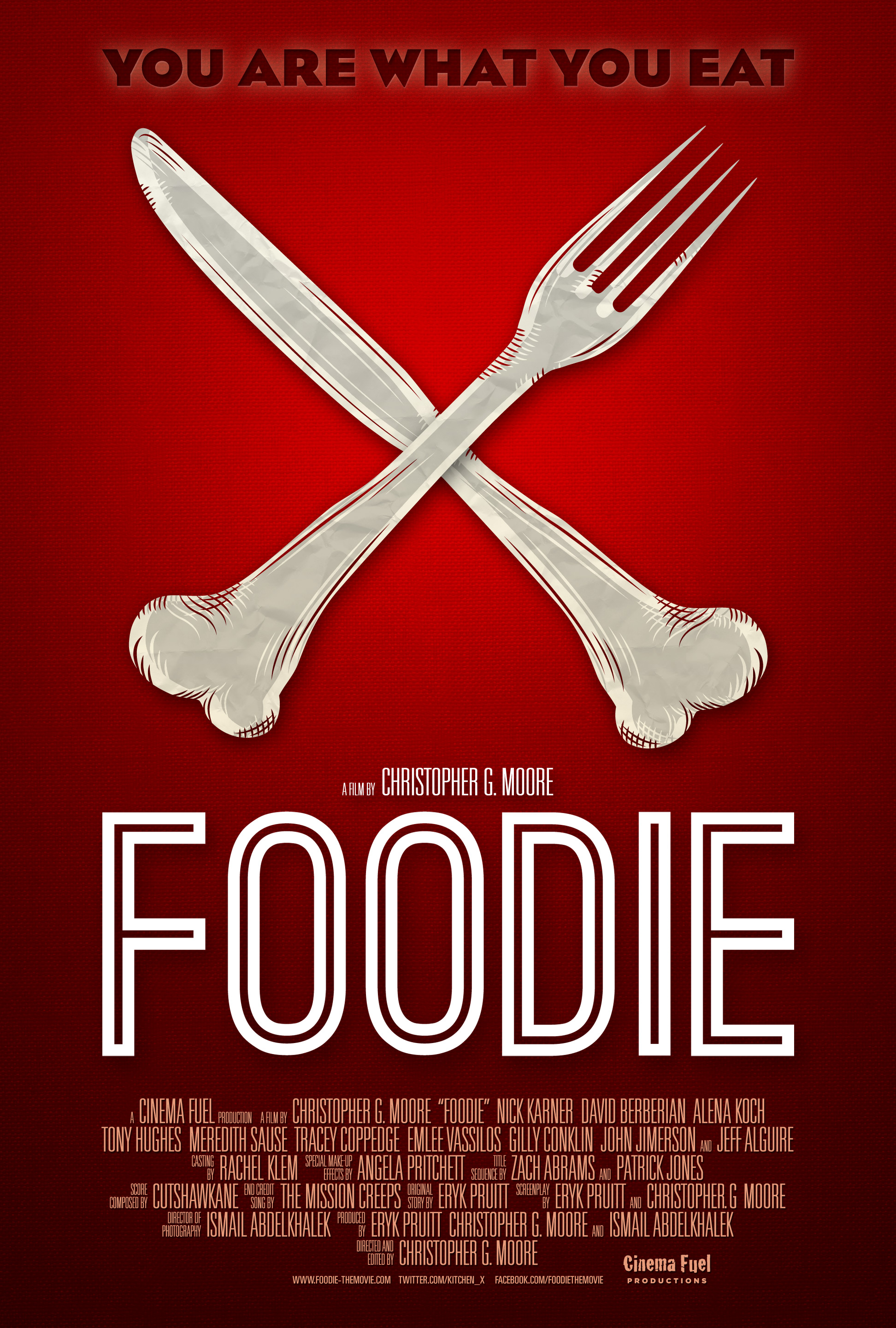 The Official Foodie Poster