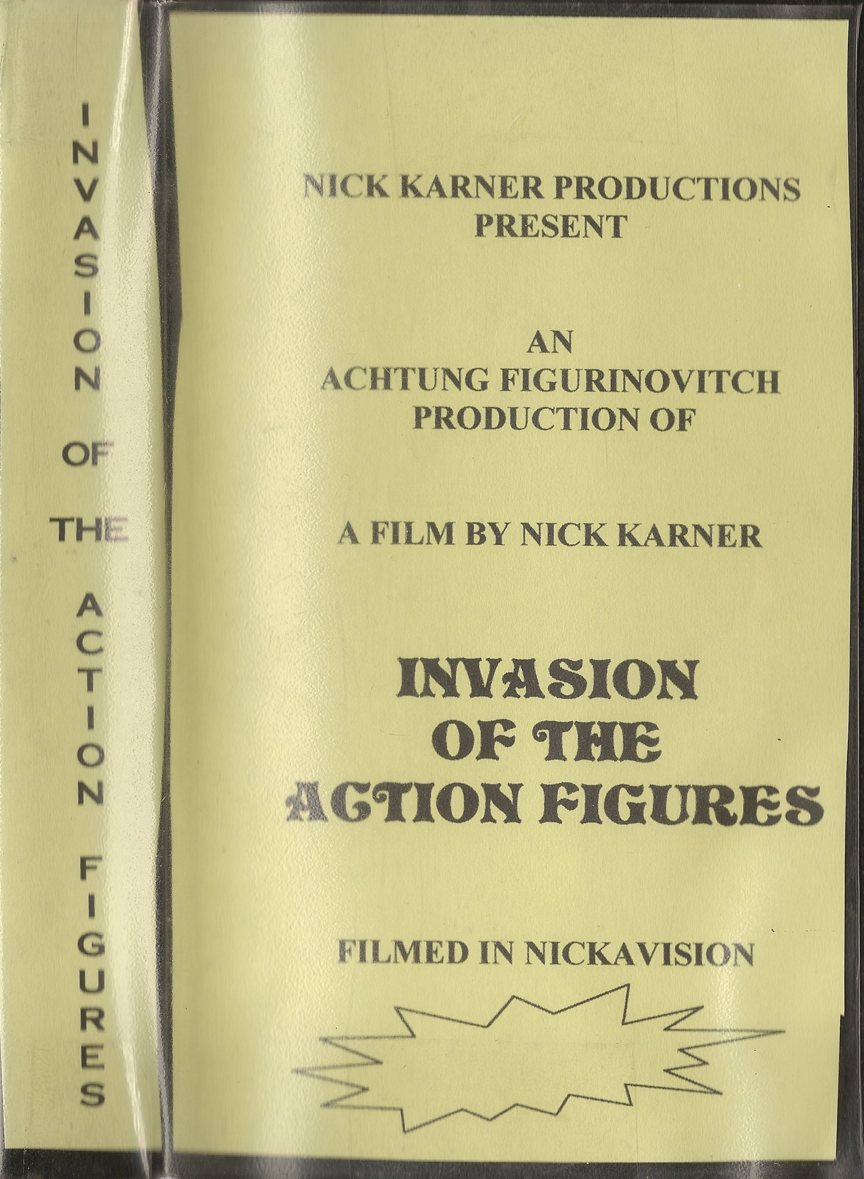 Invasion VHS Cover