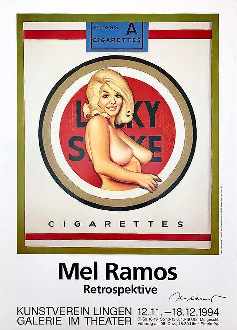 Mel Ramos, Lucky Lulu Blonde, 1964/1994