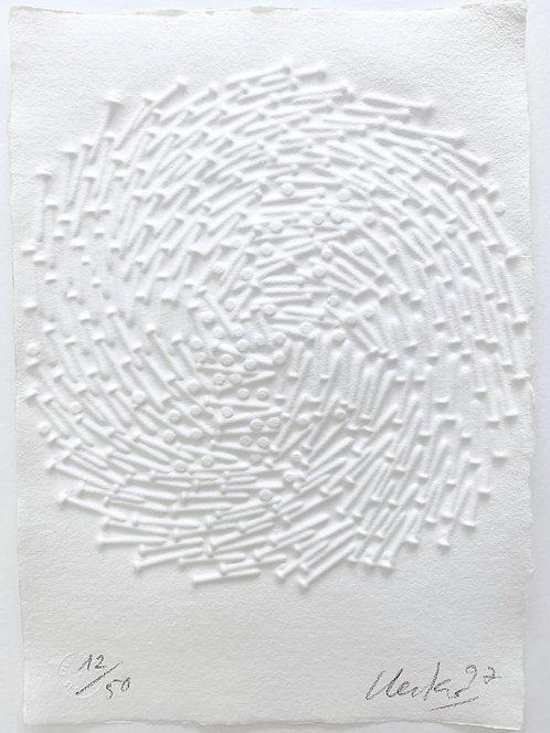 Günther Uecker | Spirale (ohne Titel) 1997