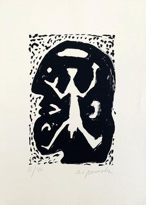 A. R. Penck, Standard im Kopf, 1994