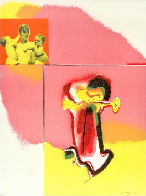 Allen Jones, Untitled #1, 1971