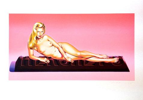 Mel Ramos, Sweet Odalisque,1996