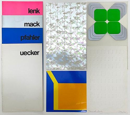 Uecker, Mack, Lenk, Pfahler | XXXV. Biennale di Venezia | 1970