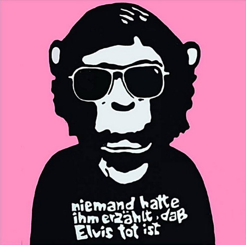 Marisa Rosato, Elvis is dead (Pop Chimps), 2020