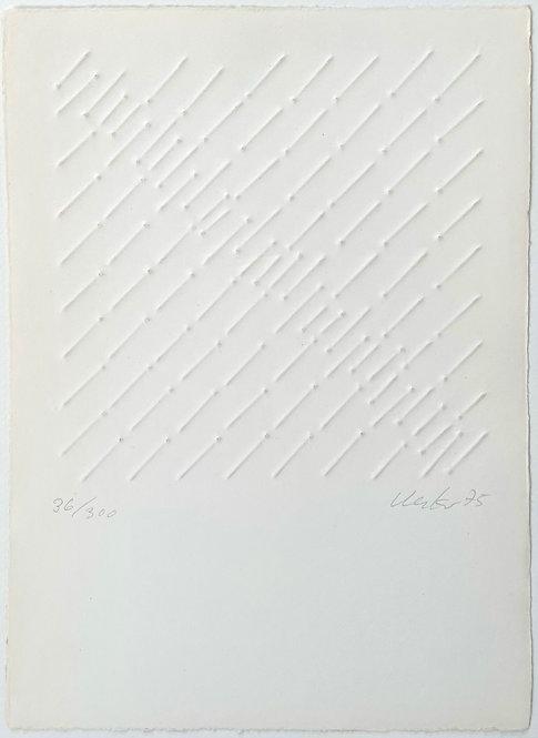 Günther Uecker | Ohne Titel | 1975
