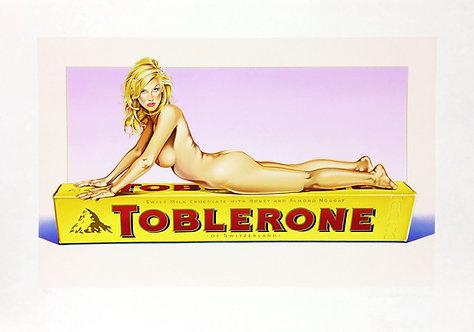 Mel Ramos, Toblerone Tess, 2007