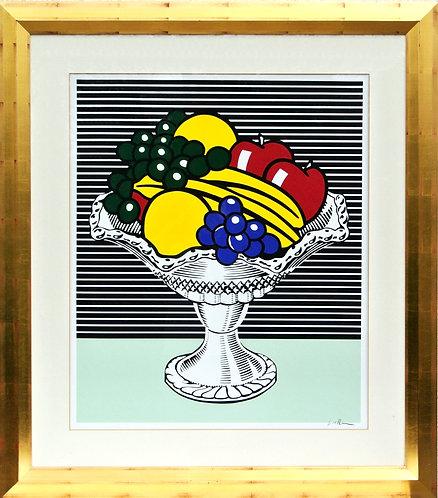 Roy Lichtenstein, Still Life with Crystal Bowl, 1990