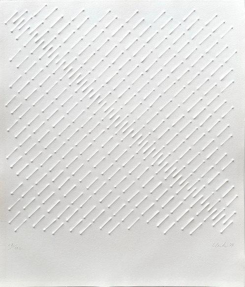 Günther Uecker, Ohne Titel, 1974