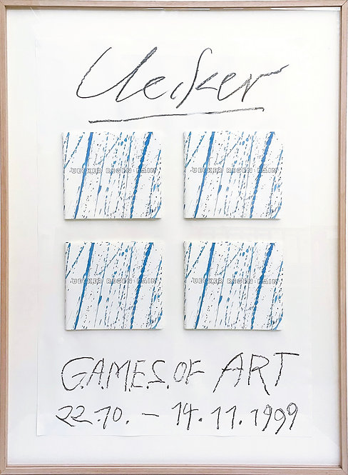 Günther Uecker, Unikat GAMES of Art, 1999