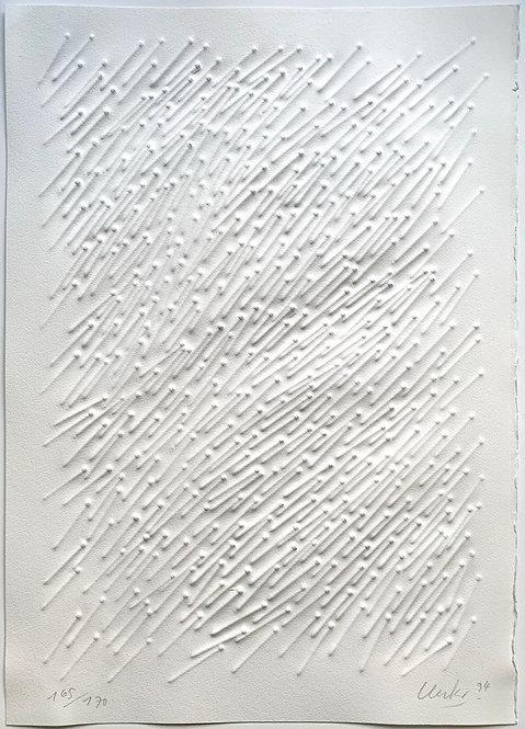 Günther Uecker, Wind, 1994