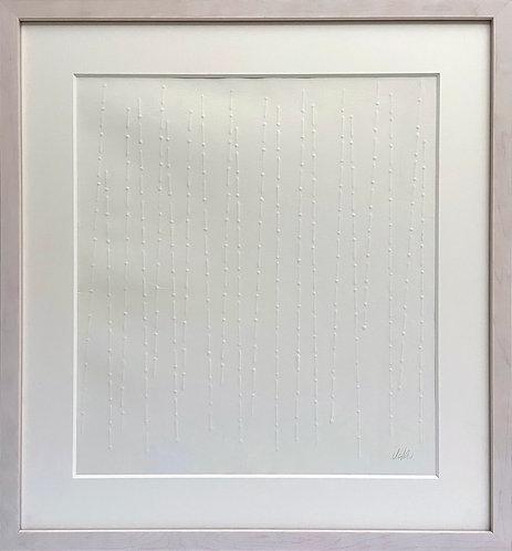 Günther Uecker | Vom Licht (Blatt 3) aus der Mappe | 1974