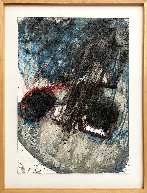 Felix Droese, Ohne Titel (Kopf), 1988