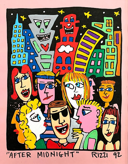 James Rizzi, After Midnight, 1992