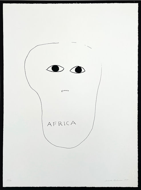 Walter de Maria, Hommage à Picasso, 2000