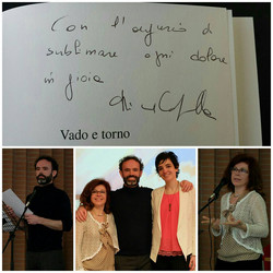 Con Kicca Campanella e Alberto Vezzani, 2018