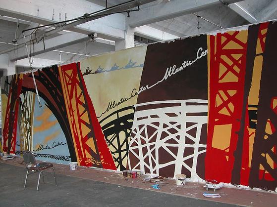 custom murals atlantic mall