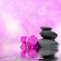 Zen spa concept background - Zen massage