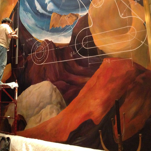 mural commercial and residential design nyc