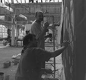 atlantic mall mural progress