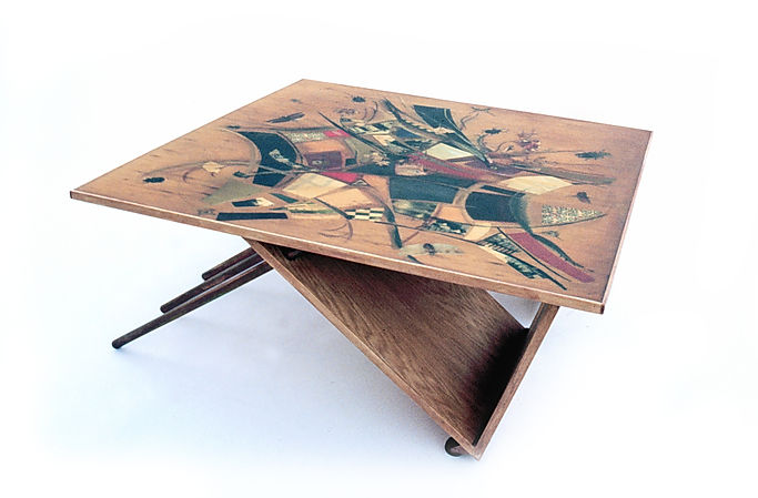 custom coffee table bugs