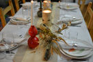 table settings for holidays and parties from the table tribe