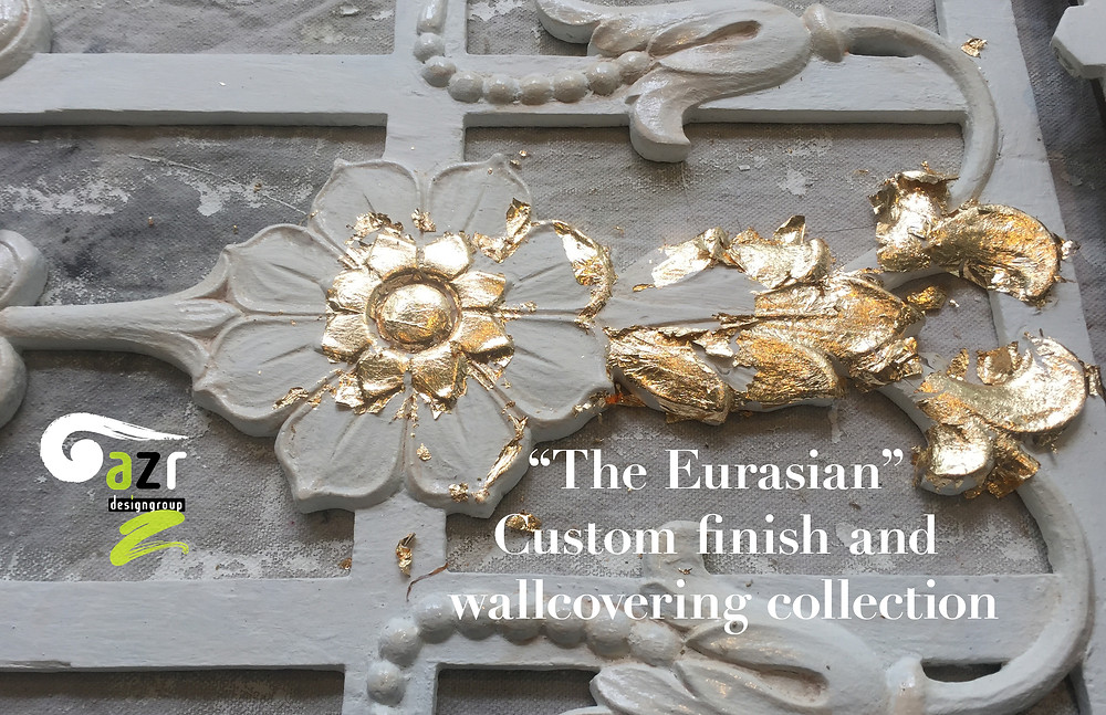 "The ""Eurasian"" interior surface finishes @azrdesigngroup"