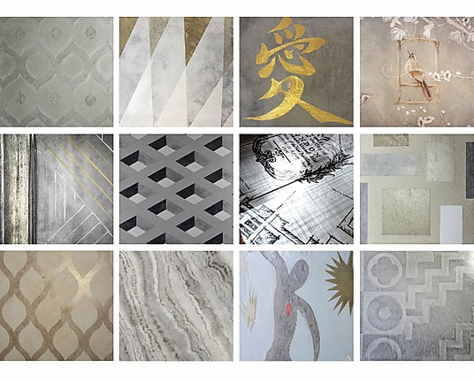 plaster mural Eurasian collection commercial and residential design nyc
