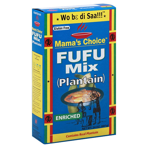 Mama's Choice Fufu Mix (Plaintain) - 700g