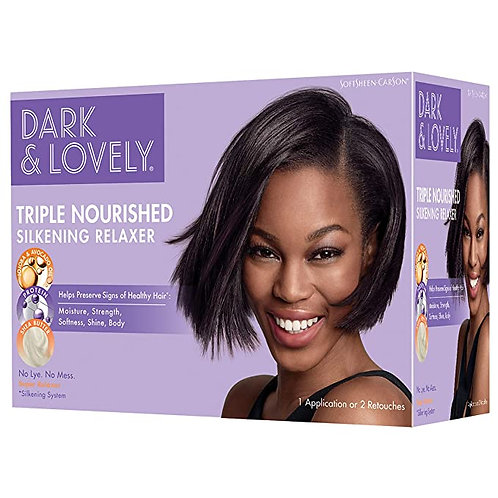 Dark and Lovely No-Lye Relaxer with Shea Butter (Super)