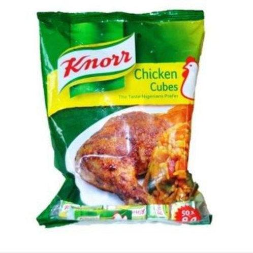 Knorr Cubes Chicken (50cubes x 8g) - 400g