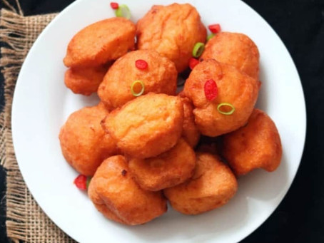 Quick and easy! Koose/Akara (Beans cake/fritters) in 4 steps.