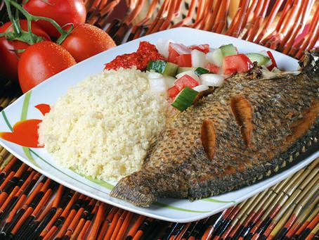Attieke (Cassava Couscous) made in minutes