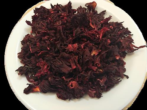 Hibiscus Leaves (Sorrel/ Zobo /Bissap / Sobollo) - 100g