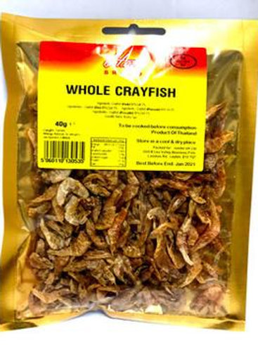 Whole Crayfish - 70g