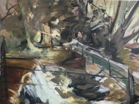Sapey_Wier._Oil_on_Canvas.__W123cm_x_H92