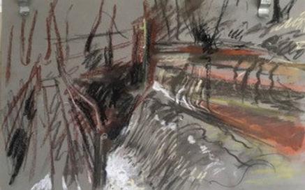 Sapey Wier Study. 2.  £100..jpg