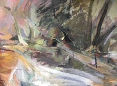 Sapey_Weir_3._Oi_on_Canvas.__W92cm_x_H66