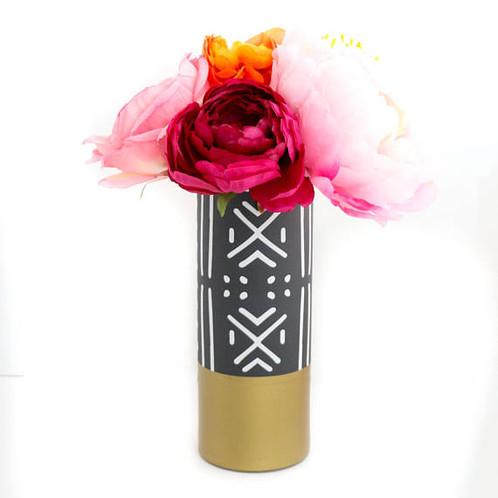 Flower vase home decor ga oak moss flower vase mightylinksfo
