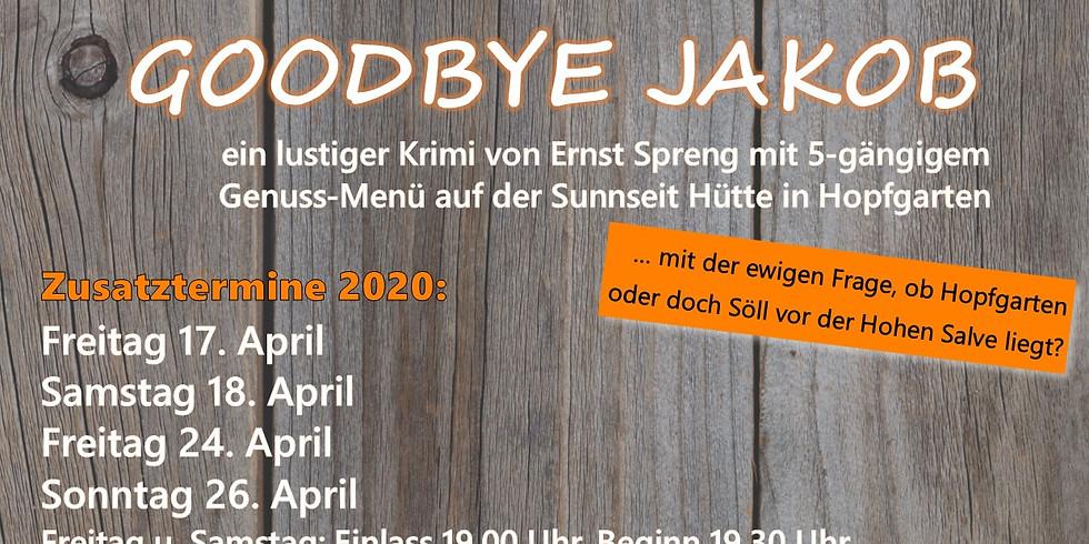 Goodbye Jakob